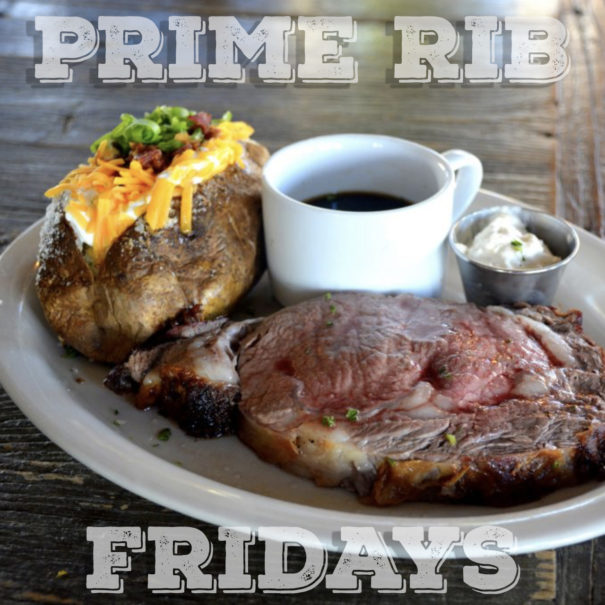 Prime Rib Friday at Cowfish. Please call the restaurant for more details. 631.594.3868.