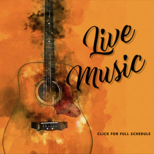 Live Music at Cowfish - call for full schedule.