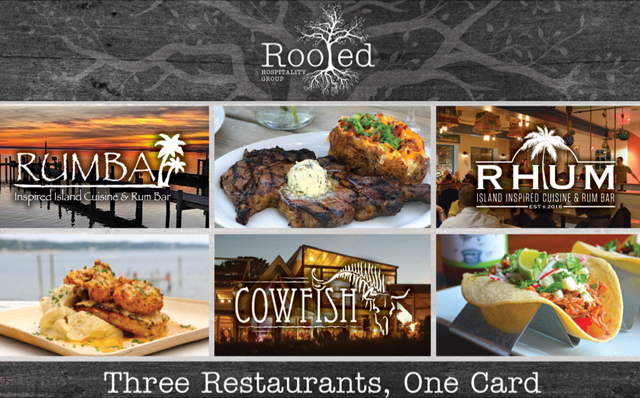 Three Restaurants, One Card - Rooted Hospitality Group Gift Cards