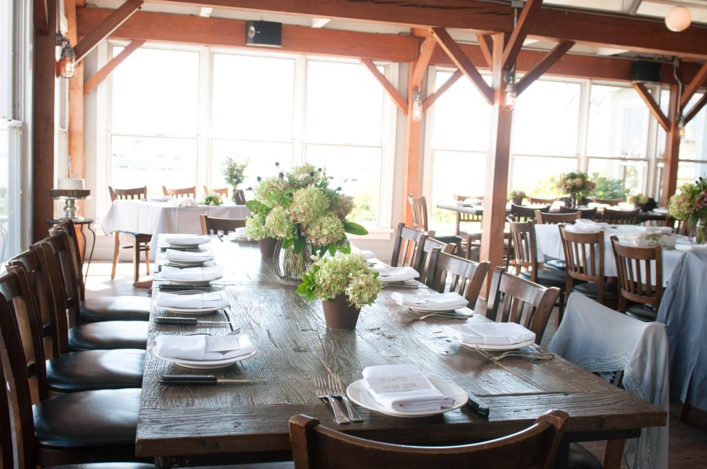 The main dining room at Cowfish!