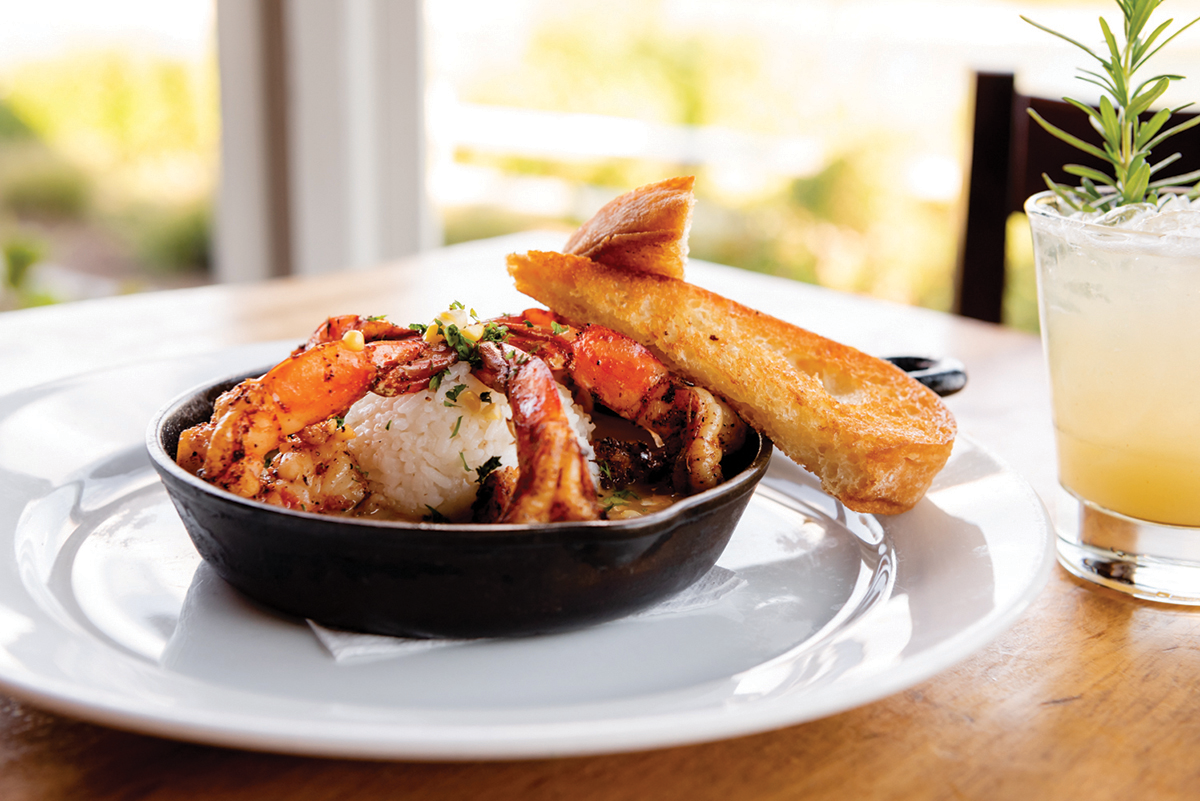 Enjoy NOLA Shrimp - part of our on- and offsite catering options. Call for details.