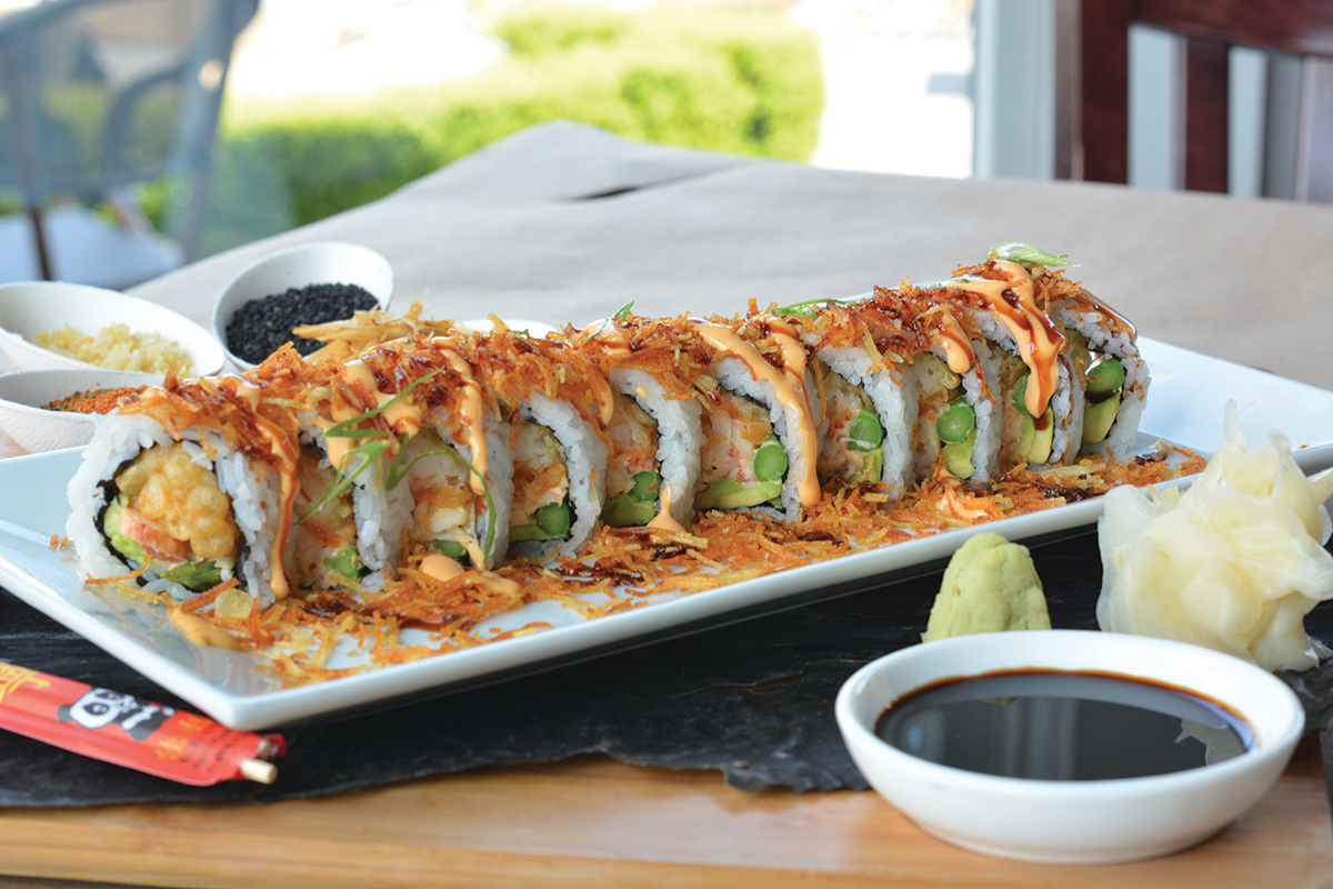 Enjoy Sushi - part of our on- and offsite catering options. Call for details.