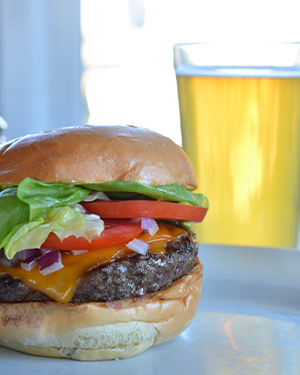Enjoy a Cowfish Burger and a Beer at Cowfish any day of the week, year-round!