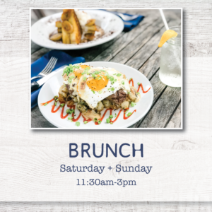 Enjoy Weekend Brunch at Cowfish - every Saturday and Sunday from 11:30am to 3pm